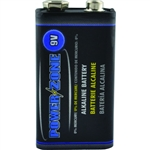 Power Zone  9 Volt Alkaline Battery Mercury and Cadmium Free
