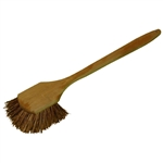 "H.B. Smith, PB20, 20"", Palmyra Bristle Pot Brush with Wood Block"