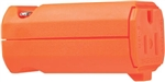 Pass & Seymour, PS5969OCC20, Orange, 2 Pole, 3 Wire Grounding, Premium Hi-Vis Connector, 15A, 125V