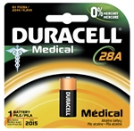 Duracell, PX28ABPK, 6V DC Alkaline Photo Cell, Medical Equipment Battery