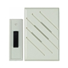 Thomas & Betts, RC3190D, White, Wireless Battery Door Chime, 150' Range, Extended Battery Life