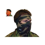 Exo Pro, S234, Large, Military Camo, Extreme Cold Weather Full Face and Neck Mask, Velcro Ski Mask