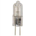 Satco S3171 Bi Pin 10W G4 Base Clear 12-Volt Halogen Light Bulb