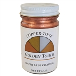 Sheffield Bronze Paint 1755 Copper-Tone 2oz Golden Touch Water Base Coating