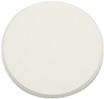 "Slide-Co, SCU 9243, 3-1/4"", White Textured Round Rigid Vinyl Wall Protector Bumper"