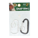 H.B. Smith Tools SR2CS 2 Pack Snap Key Ring