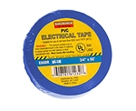 "Tuff Stuff Tape Blue 3/4"" X 60' PVC Electrical Tape UL Listed"