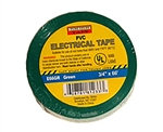 "Tuff Stuff Tape Green 3/4"" X 60' PVC Electrical Tape UL Listed"