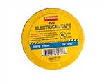 "Tuff Stuff Tape Yellow 3/4"" X 60' PVC Electrical Tape UL Listed"