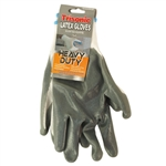 Trisonic TS-GL2006AB Grey Palm Coated White Heavy Duty Latex Gloves