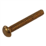 Tuff Stuff TSF39910 100 Pack Round Head Brass Finish Bolt With Nut For #919 and #921 Mailboxes