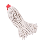 Tuff Stuff DMH16 #16 4 PLY 100% Cotton Detachable Deck Mop Head Refills POLYBAG