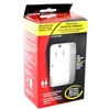 Cooper, XSGF15W-MSP, White 15A Decorator Combination Single Pole Switch, GFCI Receptacle