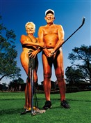 1314 BD Nudist golfers