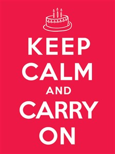 1370 BD Keep calm & carry on