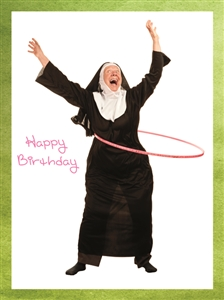 1414 BD Nun with hula hoop
