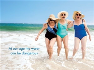 1462 BD 3 ladies, water dangerous