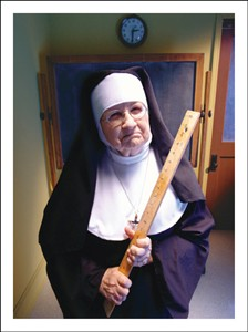 2120 BD Nun with ruler