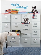3514 RT Dogs in file cabinet