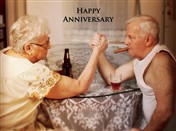 4127 AV Couple arm wrestling