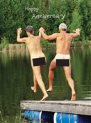 4137 AV Naked couple skinny dipping