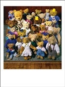 5123 GW Teddy bear group