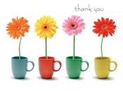 6446 TY Daisies in mugs