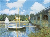 MONET Bridge at Argenteuil (6784)
