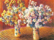 MONET Vases, chrysanthemums (6791)