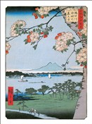 HIROSHIGE On the river (6854)