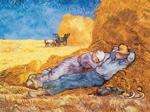 VAN GOGH Noon Rest (6870)