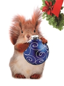 7571BX CH Squirrel with ornament