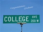 8818 GD College Ave sign