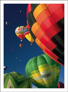 9312 NC Hot air balloons