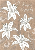 PRP022 SY Sympathy Lillies