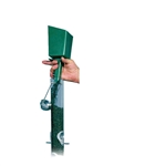 Poultry Farm Equipment - Bird Seed Scoop/Funnel - green