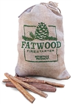 Fatwood Firestarter- 4lb bag