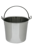 Farm & Self-Sufficiency Supplies: Stainless Steel Pail 8 quart
