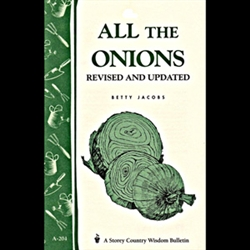 Gardening How-To Book: All the Onions