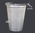 Maple Sugaring Equipment & Supplies - Maple Syrup Sap Bucket-Metal