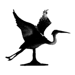 "Blue Heron Weathervane - 30"" Aluminum Ornamental Wind Instrument"