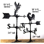 Weathervane Assembly - Outdoor Ornamental Weather Vane