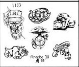 Apache Jil SET 11 / SHEET 3