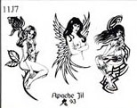 Apache Jil SET 11 / SHEET 7