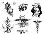 Apache Jil SET 11 / SHEET 8