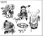 Apache Jil SET 12 / SHEET 10