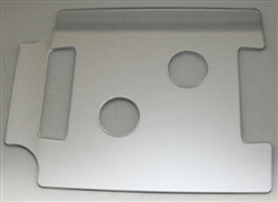 2-Hole 1510 Ultrasonic Plexiglass Top
