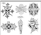 Surkov Tattoo Flash SET 1 / SHEET 1