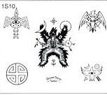 Surkov Tattoo Flash SET 1 / SHEET 10