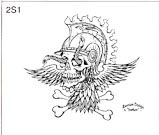 Surkov Tattoo Flash SET 2 / SHEET 1